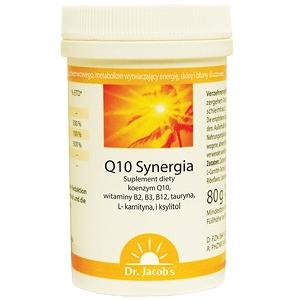 Koenzym Q10 Synergia Dr. Jacob's ryboflawina, tauryna, L-karnityna 80g