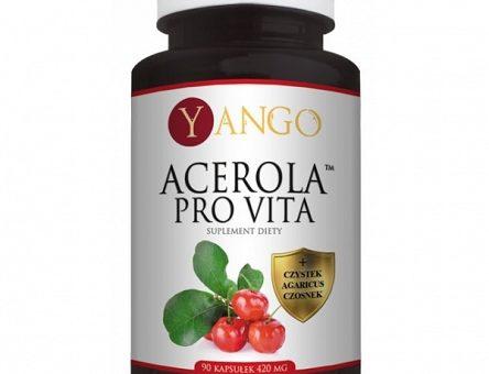 ACEROLA – naturalne źródło witaminy C i antyoksydantów dla zdrowia i odporności