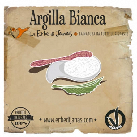 Glinka biała Argilla Bianca Erbe di Janas