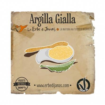 Glinka Żółta ARgilla Gialla Erbe di Janas